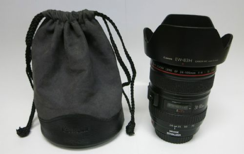 Canon EF 24-105mm F/4 L IS USM 1:4 Macro 0.45m/1.5ft Image Stabilizer Zoom Lens